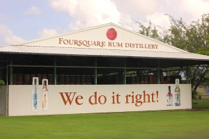 Foursquare rum distillery light